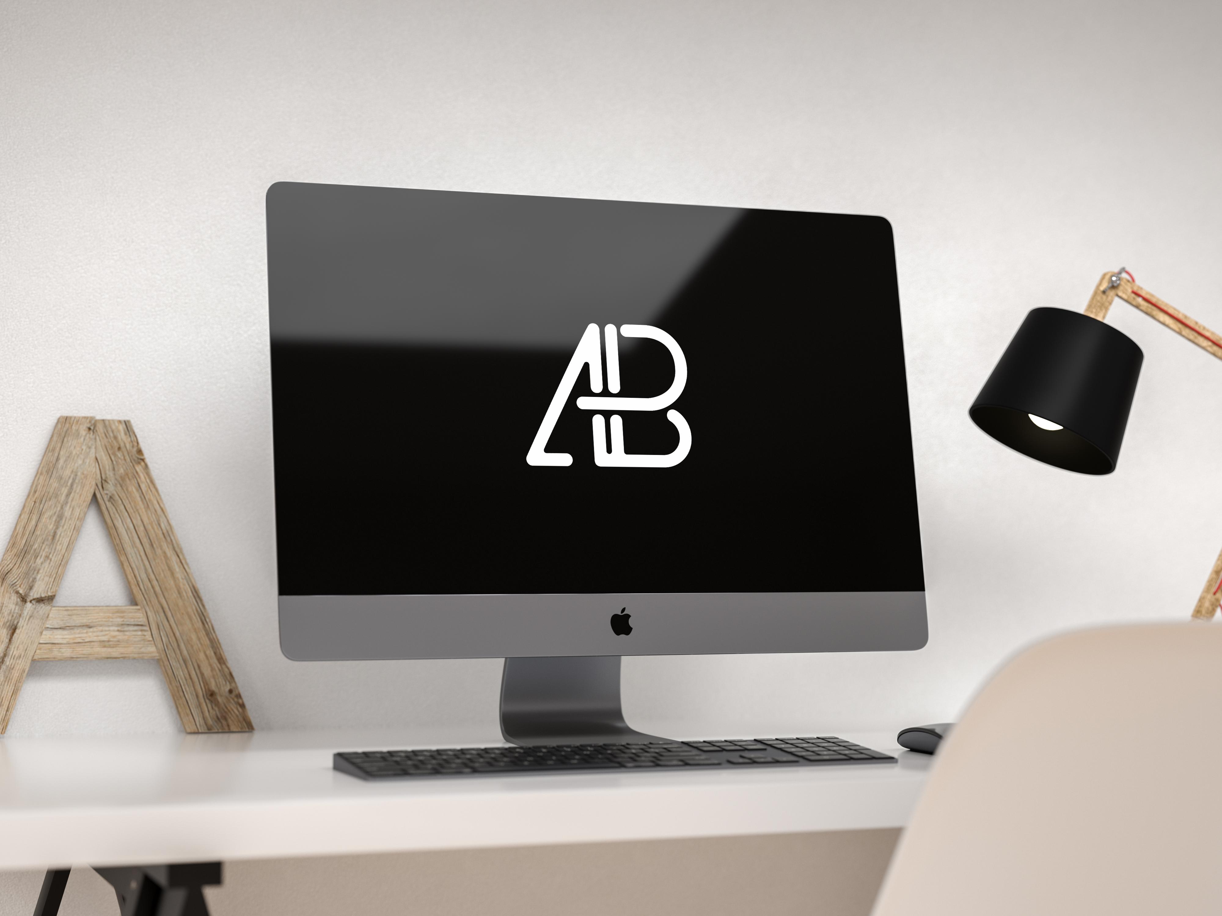 Modern imac pro mockup   anthony boyd graphics