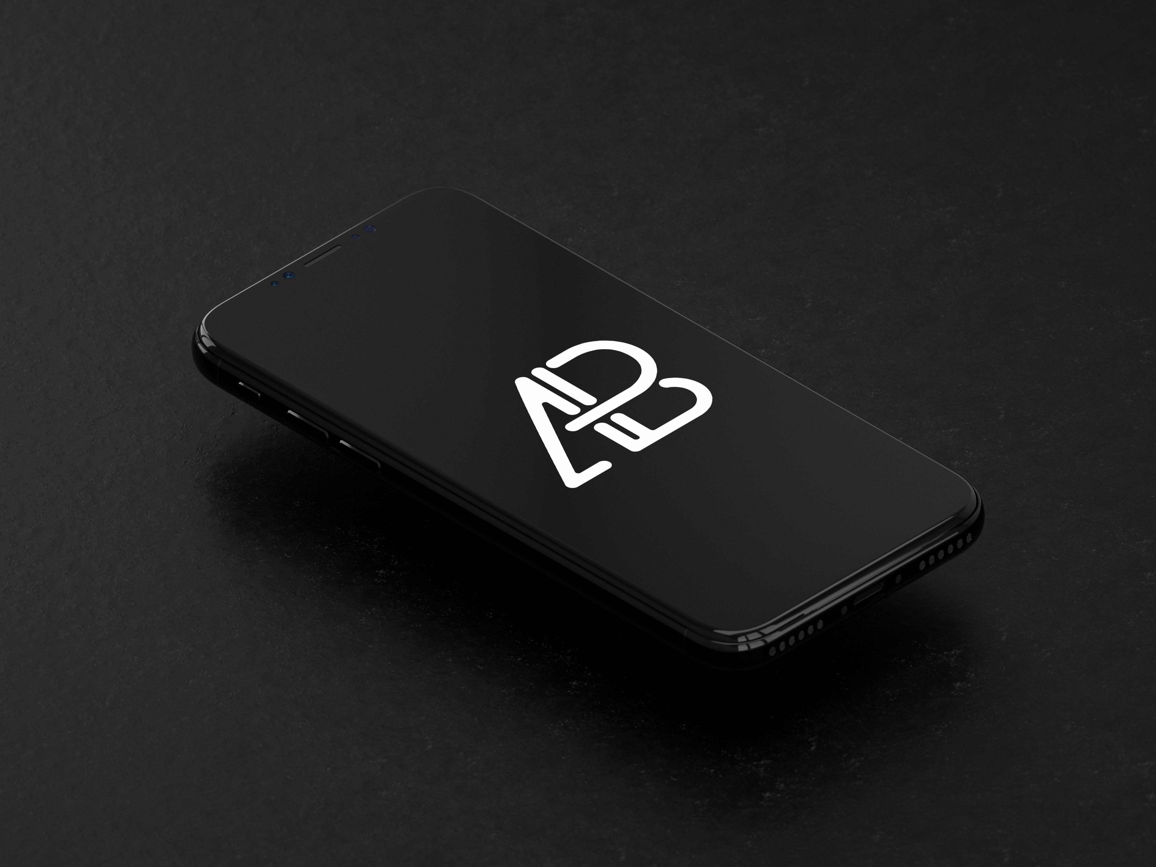 Isometric iphone 8 mockup  4    anthony boyd graphics
