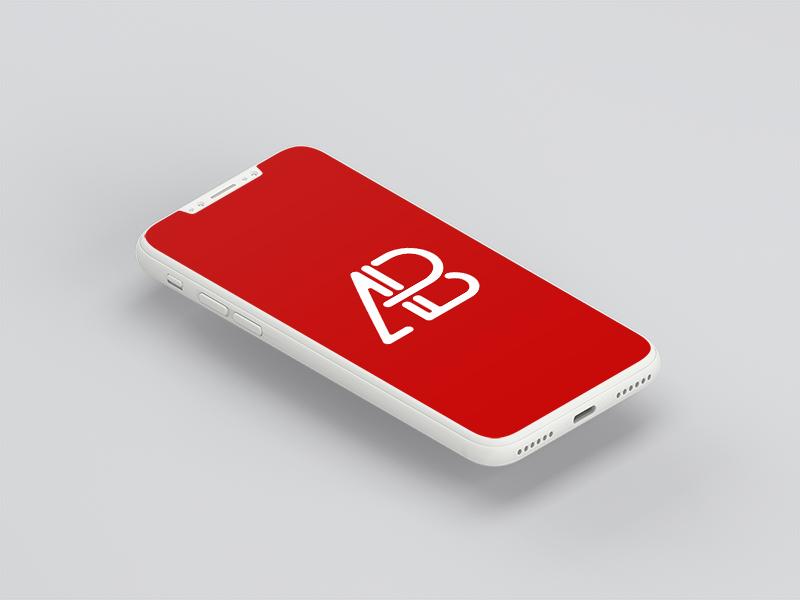 Clay iPhone 8 Mockup