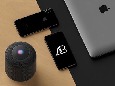 Modern iPhone X Mockup x ux ui showcase ios freebie apple free mockup iphone