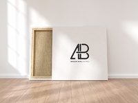 Square canvas mockup by anthony boyd graphics  2
