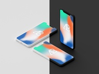 Clay Iphone X Mockup Vol.2