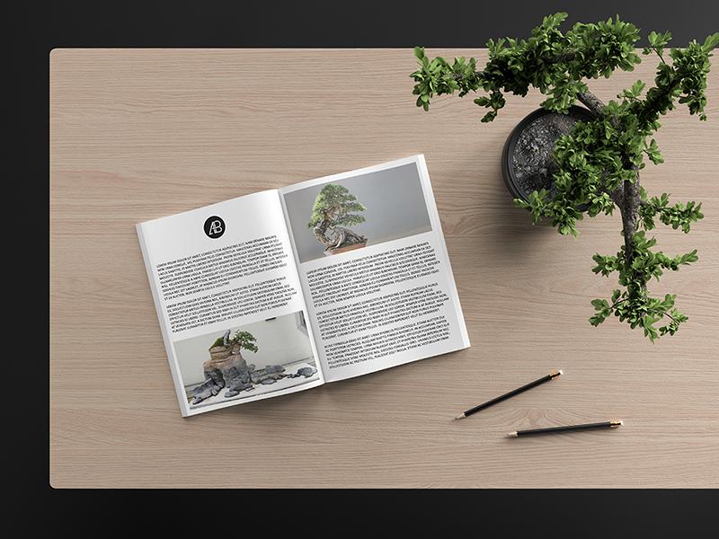 Modern catalog magazine mockup by anthony boyd graphics  3