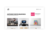 Anthony Boyd Graphics Website Redesign