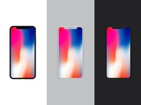 Front View iPhone X Mockup Vol.2