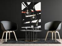 Modern Dark Poster Mockup