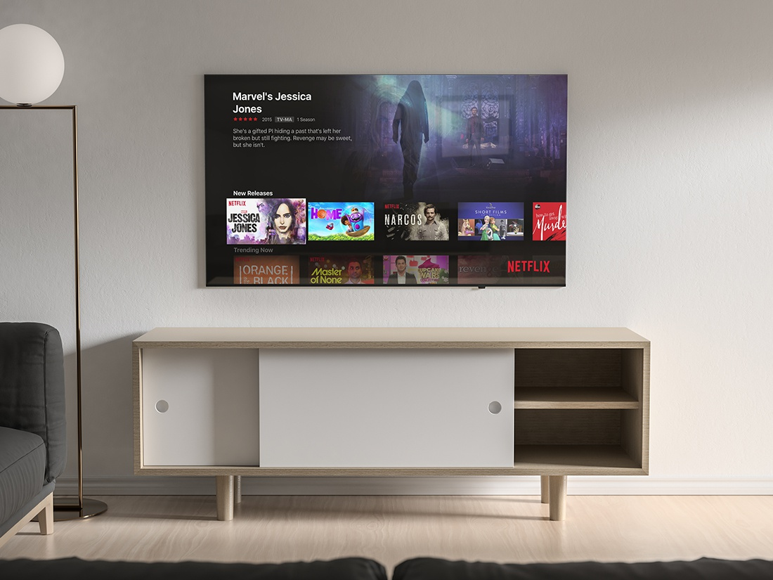 Modern Tv Mockup By Anthony Boyd Graphics On Dribbble