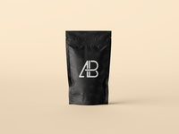 Pouch Bag Packaging Mockup