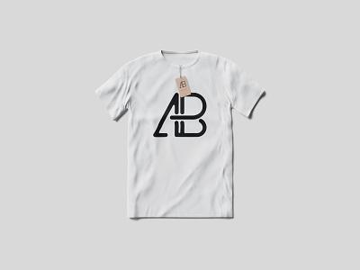 T-Shirt With Tag Mockup mockups branding showcase psd free mockup clothes apparel t-shirt