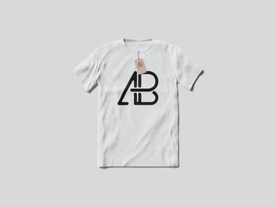 T-Shirt With Tag Mockup