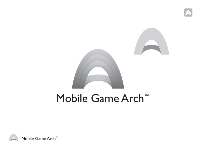 Mobile Game Arch logo arch logo identity game mobile