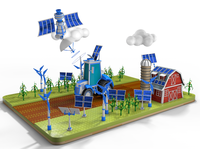 Eco Country 3D Illustration