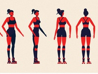 Character Design Turnaround & Color research