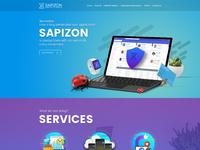 Sapizon web v1