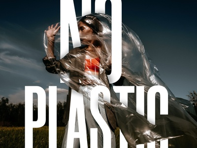 """Say no to """"Plastic"""", Save earth from plastic"""