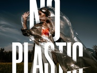 "Say no to ""Plastic"", Save earth from plastic"