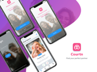 Courn Dating App Concept