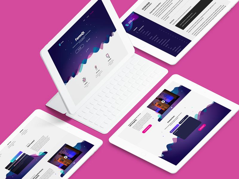 FormQL.io startup formql form onepage agency website landing product company