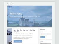 Personal Blog Page