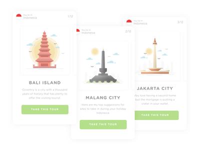 MyTour App | Choose City Concept
