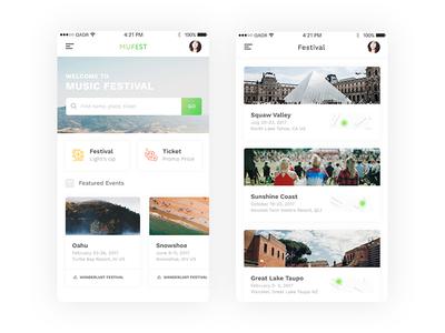 Mufest iOS App