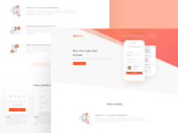 Landing page for Gratify