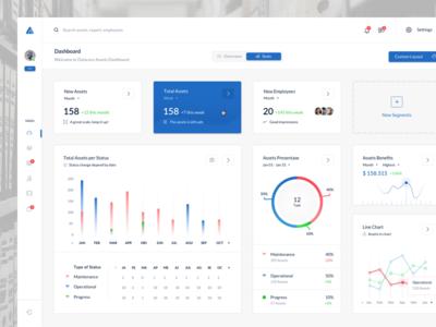 Datacare Web App - Dashboard