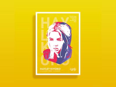 Hayley Kiyoko Poster
