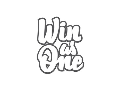 Win As One