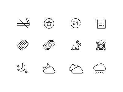 Sokolniki Park Icons vector stroke sokolniki sign pictogram park minimal line icons icon geometric