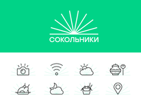 Sokolniki Park Icons