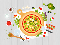 Italian pizza 🍕