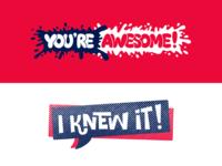 Small Talk Kit Stickers