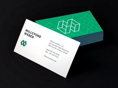 Millstone Weber Business Cards