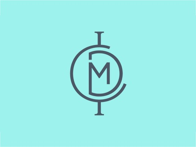 ICMD Mark brand identity branding music technology nonprofit stationery logos