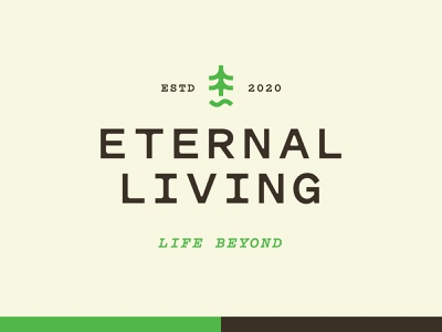 Eternal Living 1 branding vector logo typography iconography icon