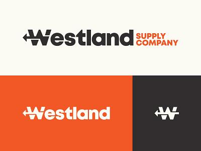 Westland Brand branding brand west logo vector iconography icon