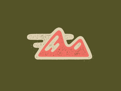 Mountain Icon mountains mountain colorado iconography vector icon illustration