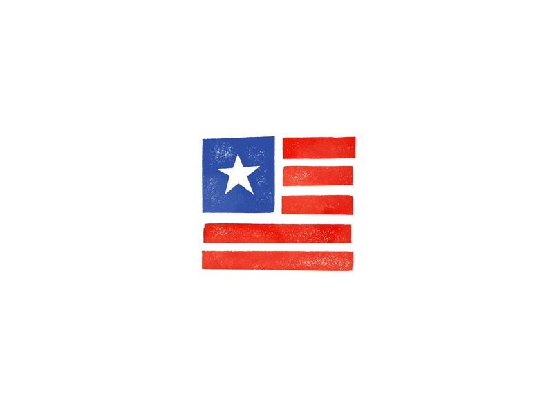 Happy 4th! fourth of july usa iconography icon illustration