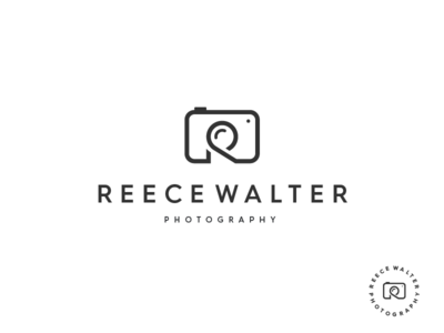 Reece Walter Photography letter r initial camera photography