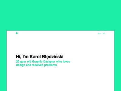 New Portfolio color minimalism minimal web design webdesign design portfolio web