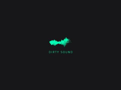 Proposal Logo Concept for Dirty Sound studio brand branding id logofolio music dj dirty design logo sound