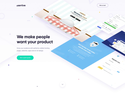 Check out our brand new website! motion design ux design layout conversion creative clean website ui ux landing web design landing page web design