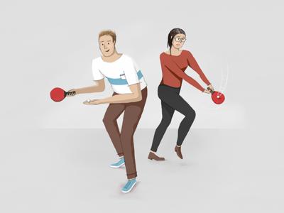 Together Like Ping & Pong