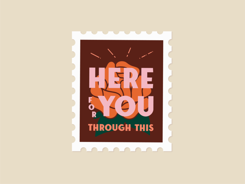 Stamp: Here for you