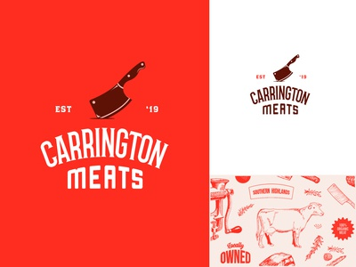 Carrington meats logo