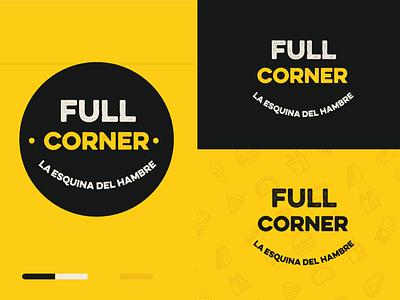 Logo - fast food concept illustration minimal market logo illustrator branding vector design