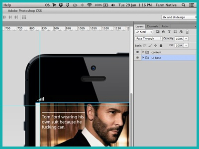 Marvin is a Friend of Mine iphone app concept work in progress minimal design magazine ui ux photoshop marvin creative lifestyle