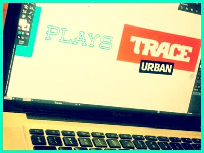 Vj Branding veejay branding logo music trace urban africa