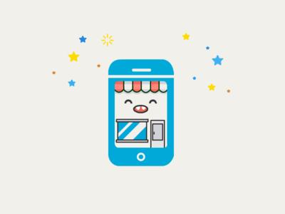 Cute Mobile Shop